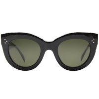 Celine CL 41050 807 Cat Eye Plastic Sunglasses