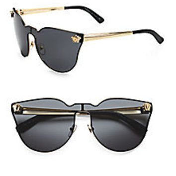 VERSACE - CATEYE SHIELD SUNGLASSES