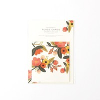 Floral Bounty Folding Place Cards - New Arrivals