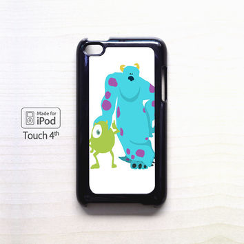 monsters inc mike and sully for Ipod 4/Ipod 5 apple case