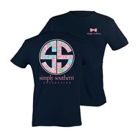 Palmetto Moon | Simply Southern Prep Rose Logo T-shirt | Palmetto Moon