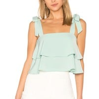 by the way. Helene Tie Strap Top in Mint | REVOLVE