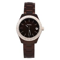 Fossil Women's ES2963 Fossil Brown Analog Watch