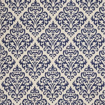Nourison Grafix White/Blue Area Rug