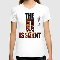 The D is Silent T-shirt by D77 The DigArtisT | Society6