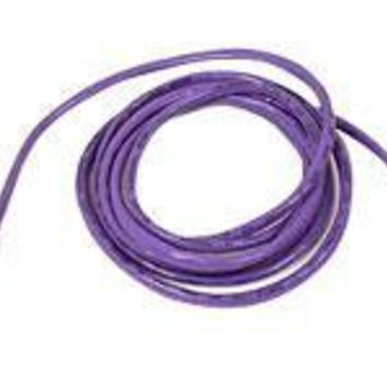 Belkin Components 10ft Cat5e Snagless Patch Cable, Utp, Purple Pvc Jacket, 24awg, T568b, 50 Micron