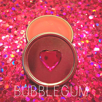 Bubblegum Bunny Gloss, chap stick, lip gloss, vegan, organic, cruelty free