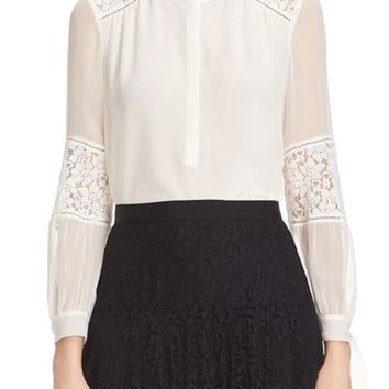 Rebecca Taylor 'Sarah' Silk Blouse | Nordstrom