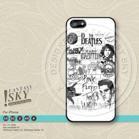 Elvis Presley The Beatles iPhone Case iPhone 5 case iPhone 5C Case iPhone 5S case iPhone 4 Case Phone Cases - FS0595