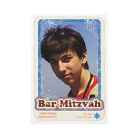 Sports Star Bar Mitzvah Invitation from Zazzle.com