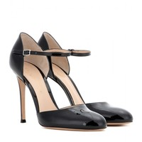 mytheresa.com exclusive patent leather pumps