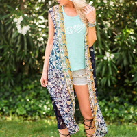 Butterfly Kisses Maxi Vest