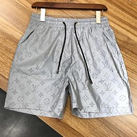 Louis Vuitton LV Trending Men Casual 3M Reflective Sport Shorts