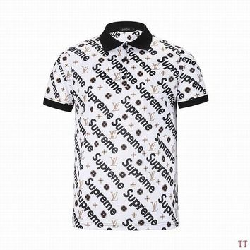 Boys & Men Supreme x Lv T-Shirt Top Tee