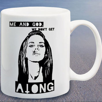 Lana Del Rey Bee Lips Gods and Monsters Lyrics logo custom mug,coffee mug,tea mug,cup mug