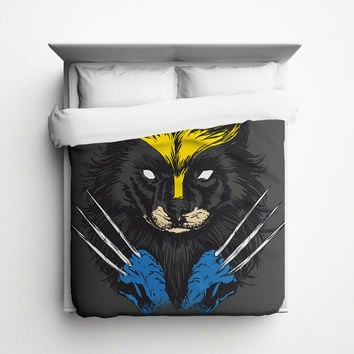 Wolverine Duvet Cover - Made in USA