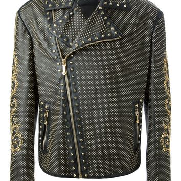 Versace Studded Jacket