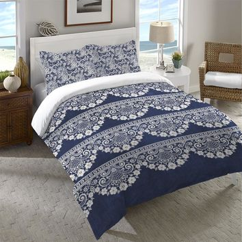 Lace Lined Duvet Cover