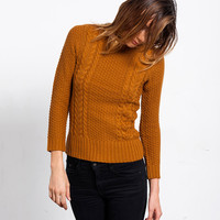 Rustic Cable Knit