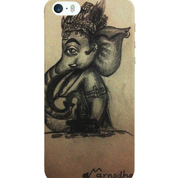 Ganesh Ji Illustration iPhone 5 / 5S Case Cover