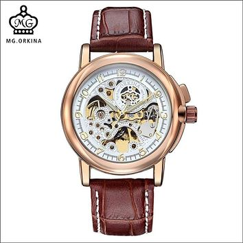 MG. ORKINA Men's Mechanical Wristwatch