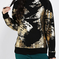 Urban Outfitters - Silence & Noise Scenic Foil Sweatshirt