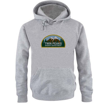 twin peaks Hoodie Sweatshirt Sweater Shirt Gray and beauty variant color for Unisex size