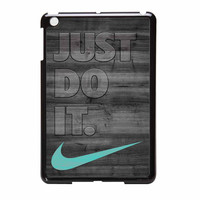 Nike Mint Just Do It Wooden Gray iPad Mini 2 Case
