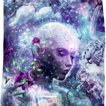 *Special Edition* Discovering The Cosmic Consciousness - Fleece Blanket