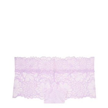 Floral Lace Boyshort - PINK - Victoria's Secret