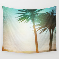 Lone Palm Wall Tapestry by Kate & Co.