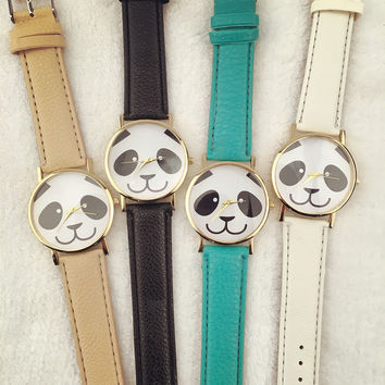 Good Price Awesome Great Deal Gift Trendy Designer's New Arrival Stylish Panda Hot Sale Ladies Watch [6407505220]