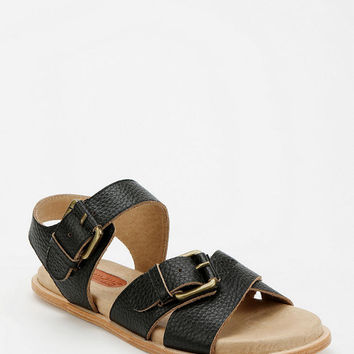 Urban Outfitters - GeeWaWa Double-Buckle Leather Sandal