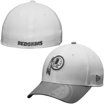 Washington Redskins New Era Series Gunner Two-Tone 39THIRTY Flex Hat – White