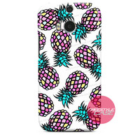 Diamond Pineapple HTC One Case M9 M8 One X Cover