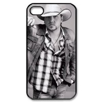 jason aldean Star iPhone 4£¬4s Designer Hard Case Cover