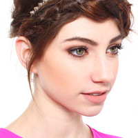 Get Spiked Head Band - Silver
