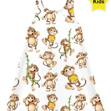 ROCD My Monkey Children's Dress