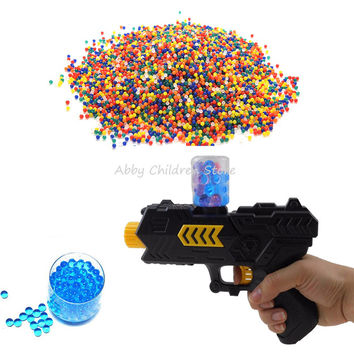 3000 Pcs Color Crystal Paintball Bullet Water Gun Paintball Bullet Orbeez Nerf Gun Toy Arma Arme Bibulous Air Pisol Toys for Kid