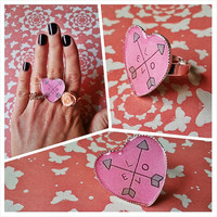 Love arrows - Adjustable Ring for trendy girl