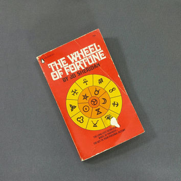 The Wheel of Fortune Jo Sheridan 1970s Book Vintage Fortune Telling Prophecy Oracle Destiny Future Fate Luck Magic Occult Metaphysical Books