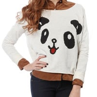 Papaya Clothing Online :: PANDA PRINT GRAPHIC TOP