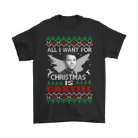 All I Want For Christmas Is Castiel Supernatural Shirts