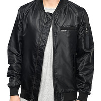 Members Only Military Black Bomber Jacket | Zumiez