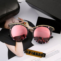 Strong Character Stylish Fashion Mirror High Quality Sunglasses [10155826887]