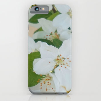 Crab Apple Tree Blossom  iPhone & iPod Case by KCavender Designs