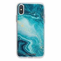 Dreamy Blue Marble iPhone Case