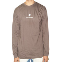 Undefeated Officially Licensed Product Long Sleeve Tee In Brown