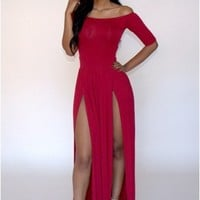 Babe Dress - Red