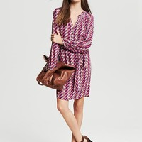 Geo Print Shirtdress